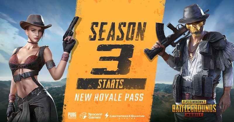 New Royale Pass With PUBG Mobile Season 3 - Digital Street