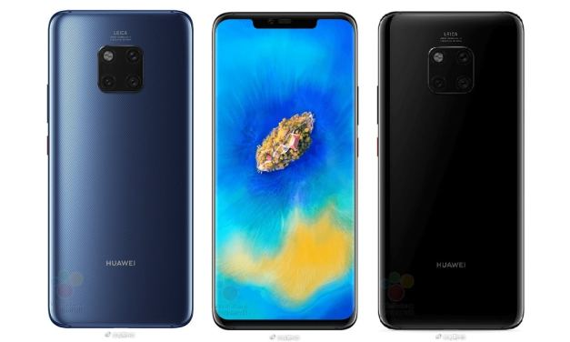 Huawei Mate 20 & Mate 20 Pro: Could this be the official design & specification list?