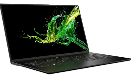 Acer Launches Swift 7 Laptop With 92 Percent Screen-to-Body Ratio at CES 2019