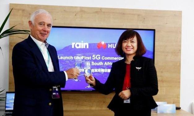 Rain and Huawei Launch South Africa's First 5G Commercial Network