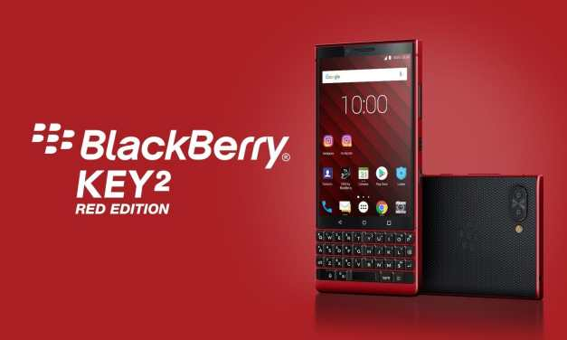 BlackBerry Launches Key2 Red Edition at MWC 2019