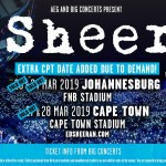 Ed Sheeran: Shekhinah announced as Second Support Act