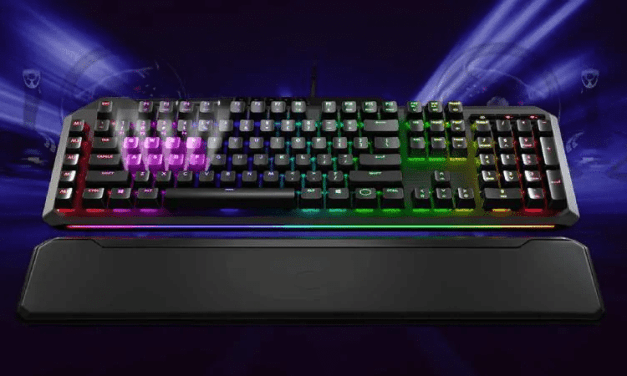 Cooler Master Launches MK850 Gaming Keyboard with Pressure-Sensitive Analogue Keys