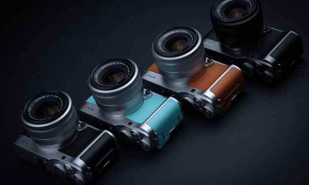 FUJIFILM introduces X-A7 mirrorless digital camera – small body, big features