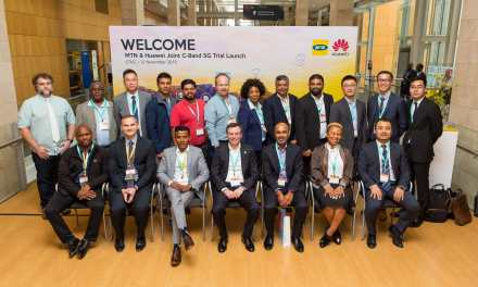 MTN Launches 5G Trial with Huawei on Golden Band