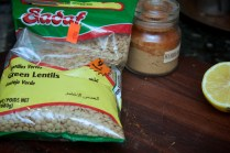 Use green or yellow lentils