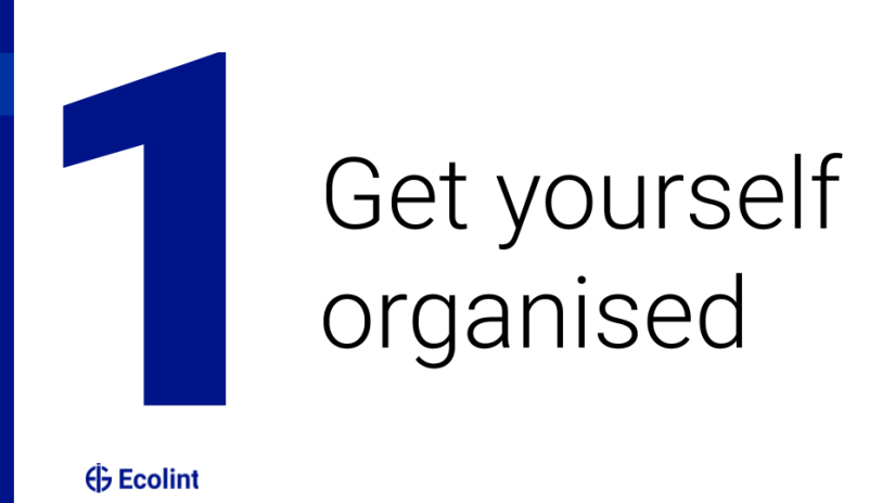 Get yourself organised