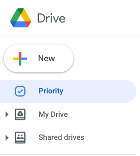 Shared Drive location
