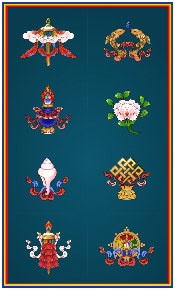 Eight Auspicious Symbols #1