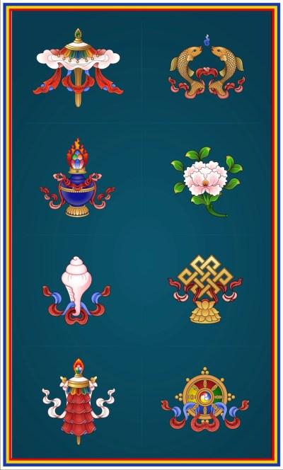 Eight Auspicious Symbols