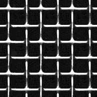 Wire screen; 12 inch section of polished square weave metal mesh.
