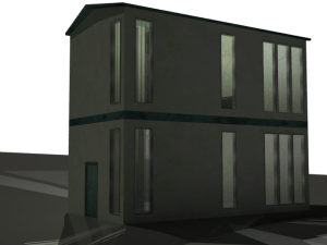 outside render