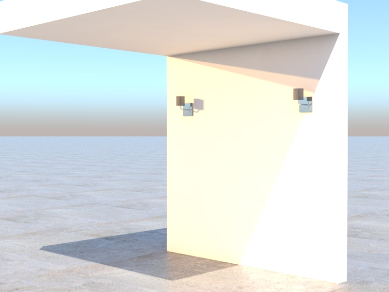 Exterior day render test 1