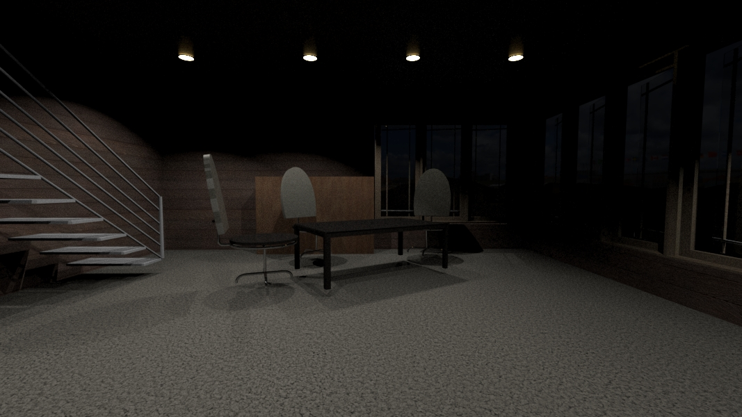 Interior night render04