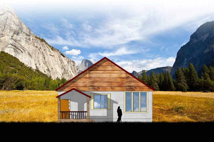 House Elevation (small house version) w valley background-fading Effect-black shadow