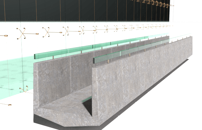 Exercise 207 Bridge and Curtain Wall