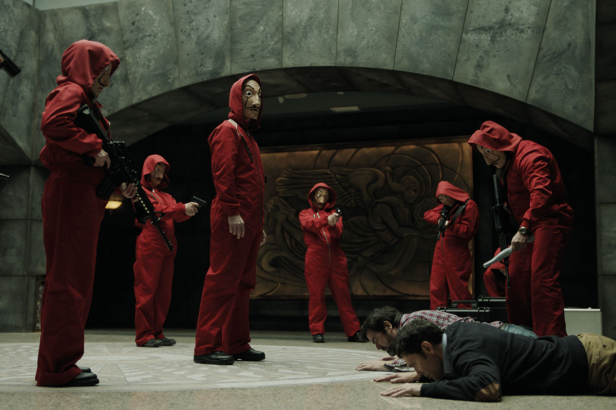 Netflix strikes deal with with La Casa De Papel creator Pina  Digital TV Europe