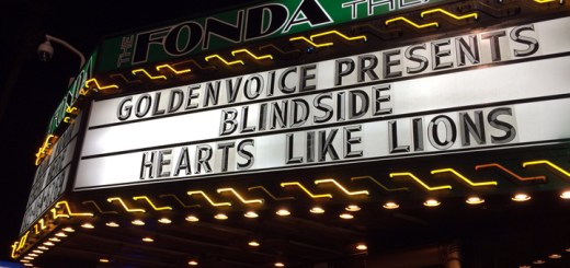 Blindside marquee