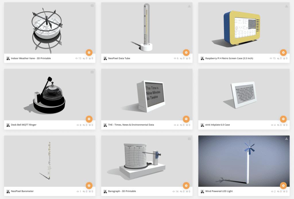 IoT Printable Devices