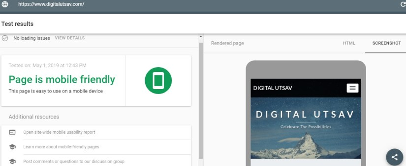 Mobile-Friendly test: On-Page SEO