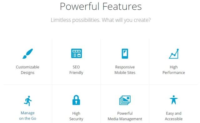 WordPress.org features