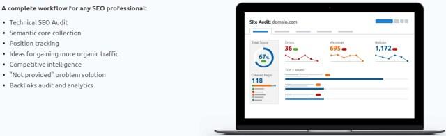 SEMrush - marketing tool for digital marketing professionals
