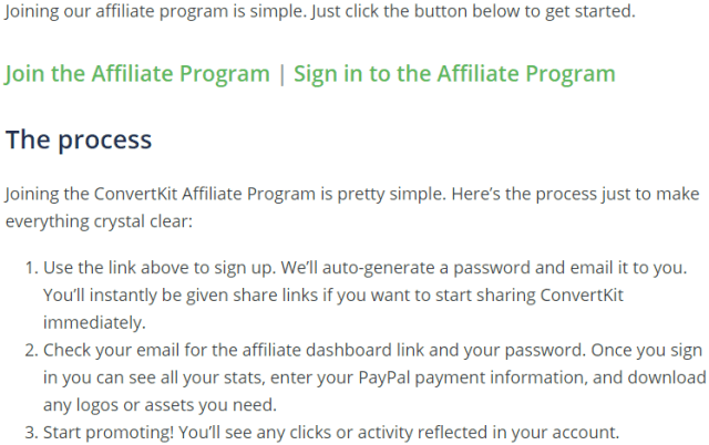 How to join ConvertKit affiliate program