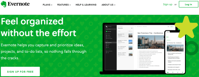 blogging tools: Evernote