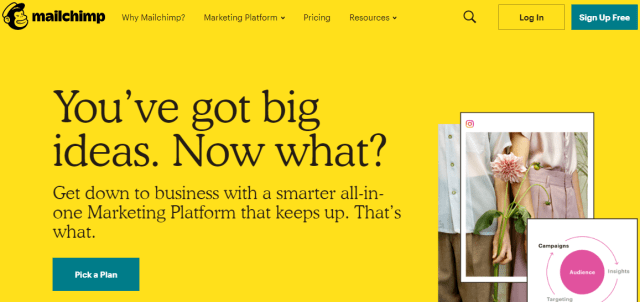 Blogging Tools: MailChimp
