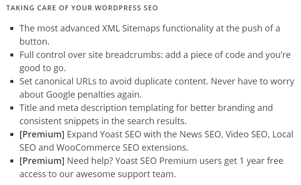 Yoast SEO: Taking care of your WordPress SEO