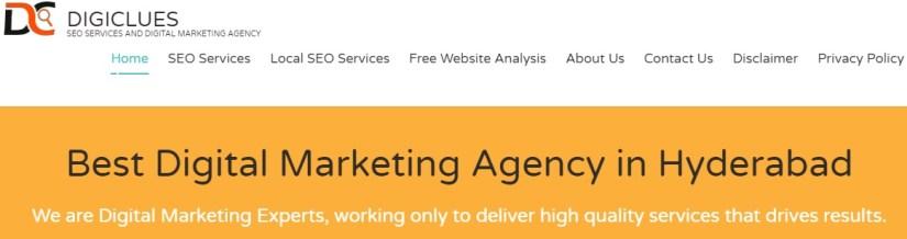 Digiclues: Best Digital Marketing Agency in Hyderabad
