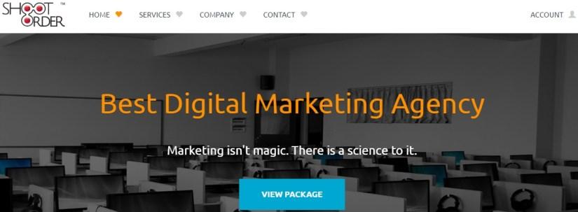 Shoot Order: Best Digital Marketing Agency in Hyderabad