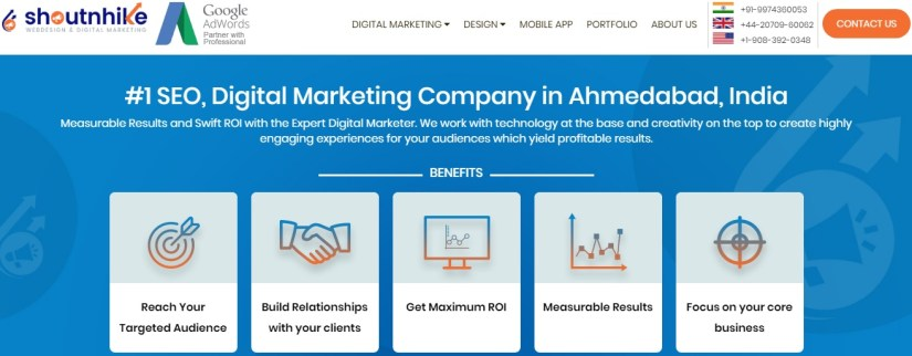 Shoutnhike: Top Digital Marketing Agencies in India