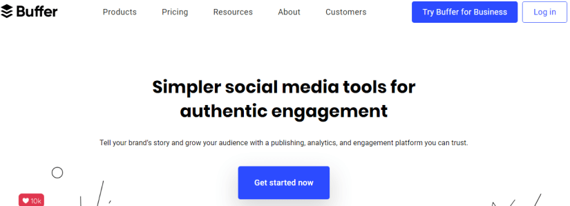 Buffer: Simpler Social Media Tools for Authentic Engagement