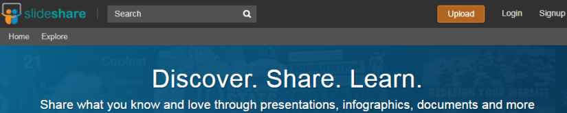 SlideShare: Best Place to Share Your Content