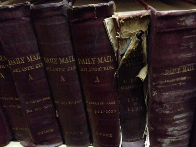 1 - Bound Volumes of Atlantic Edition
