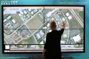 DigitalView multitouch video-wall