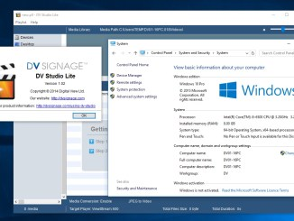 DV Studio Lite Win 10