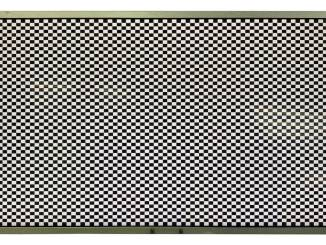 digital-view checkerboard test pattern