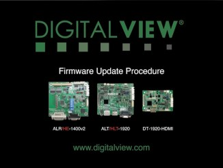 Digital View controller firmware update video guide