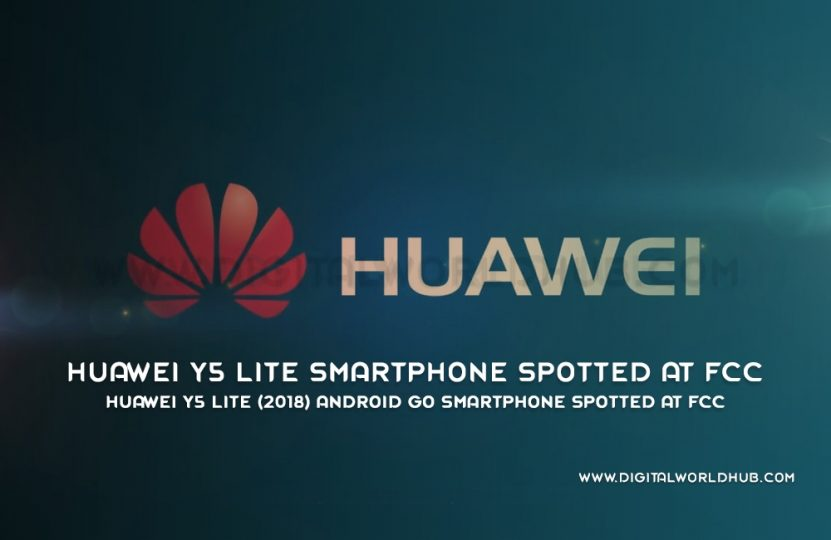 Huawei Y5 Lite (2018) Android Go Smartphone Spotted At FCC | Digital World Hub
