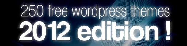 250 temi WordPress – GRATIS
