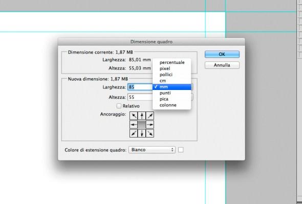 Creare un bigliettino da visita con Photoshop - 009