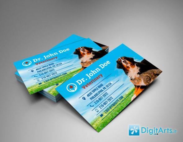 Creare un bigliettino da visita con Photoshop - Mock up