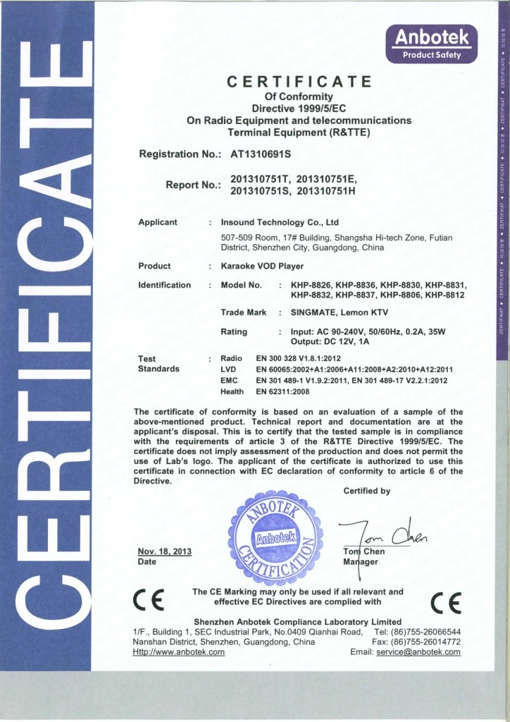 AT1310691S-CE-certificate