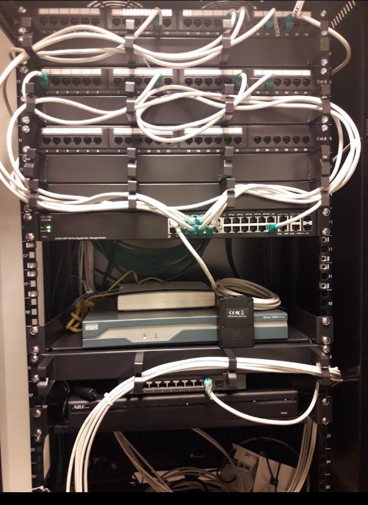 Sistema di videosorveglianza ADJ.