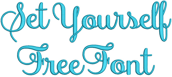 free embroidery fonts free