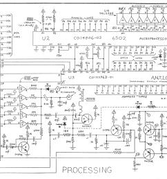 atari 5200 processing schematic [ 2000 x 1512 Pixel ]