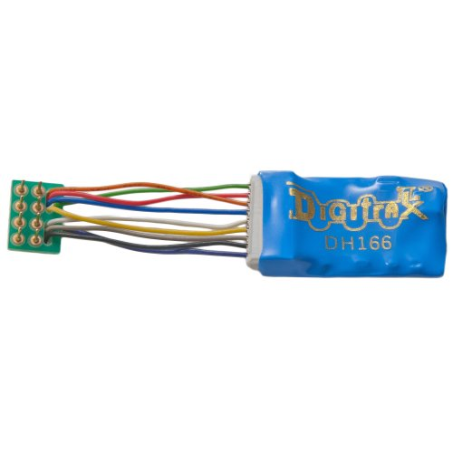 small resolution of dh166ps 1 5 amp premium ho scale decoder with digitrax easy connect 9 pin to dcc medium plug 1 0 harness