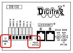 KB101: DB150 Track Power Indications with DT400 Series